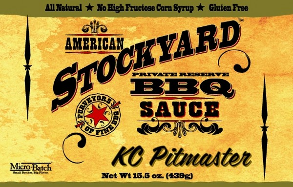 SALSA BARBECUE STOCKYARD - KC PITMASTER - 350 ML