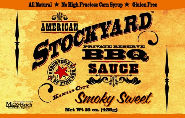 SALSA BARBECUE STOCKYARD - SMOKY SWEET - 350 ML