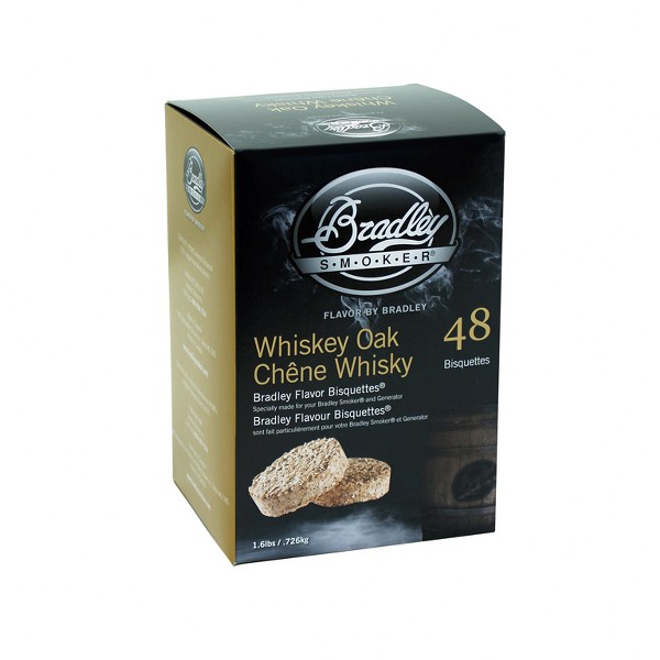 CIALDA PER AFFUMICATORI BRADLEY - WHISKEY OAK