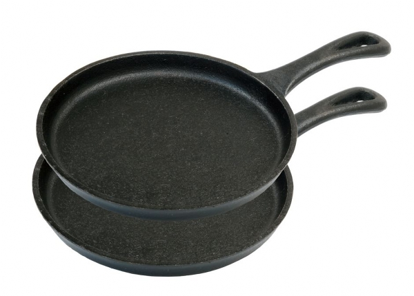 MINI SKILLET 7- 17,8 CM SET 2 PADELLE