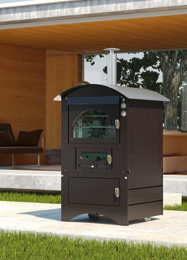Clementi forno da esterno super master con camera di - Forno a legna in casa ...