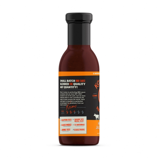 HONEY JALAPENO BBQ SAUCE - GR 439