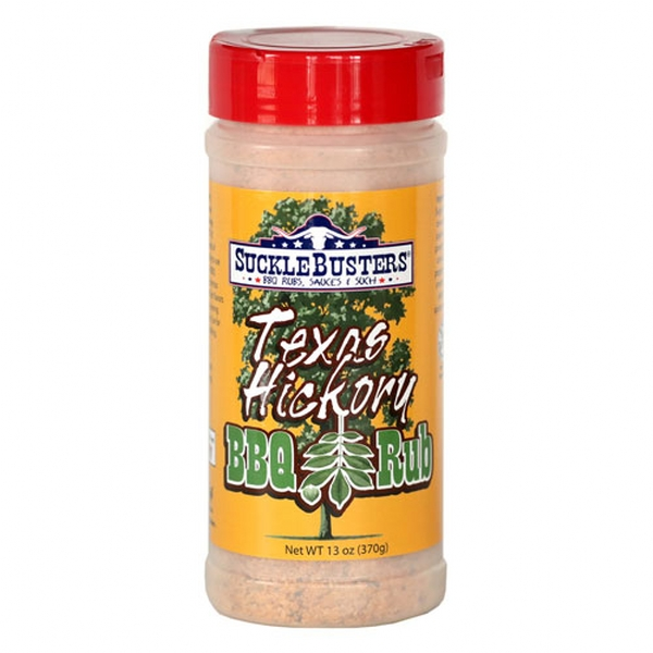 TEXAS HICKORY BBQ RUB - GR 368 (13 OZ)