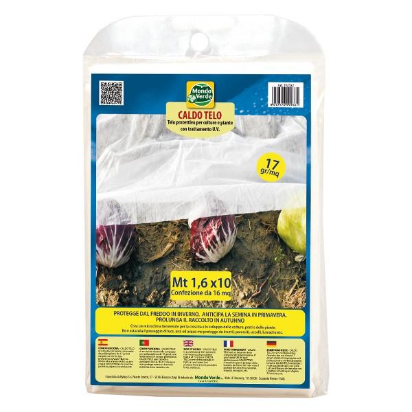 Mondoverde tessuto non tessuto caldo telo mt 1 6 x 10 - Telo tessuto non tessuto giardino ...