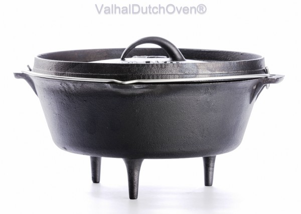 FORNO OLANDESE (DUTCH OVEN) IN GHISA - CAP. 5 LT