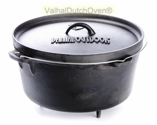 FORNO OLANDESE (DUTCH OVEN) IN GHISA - CAP. 8 LT